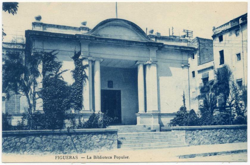 Figueres: Biblioteca Popular (Public Library)