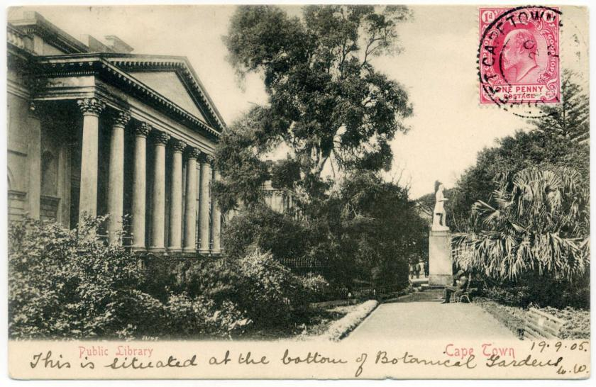 Kapstadt: Nationalbibliothek - National Library of South Africa