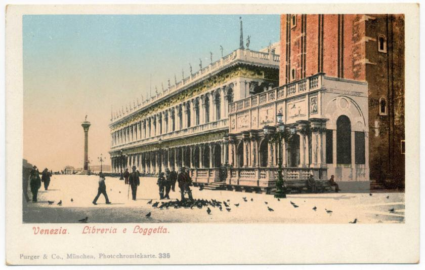 Venedig: Biblioteca Nazionale Marciana (Markusbibliothek)