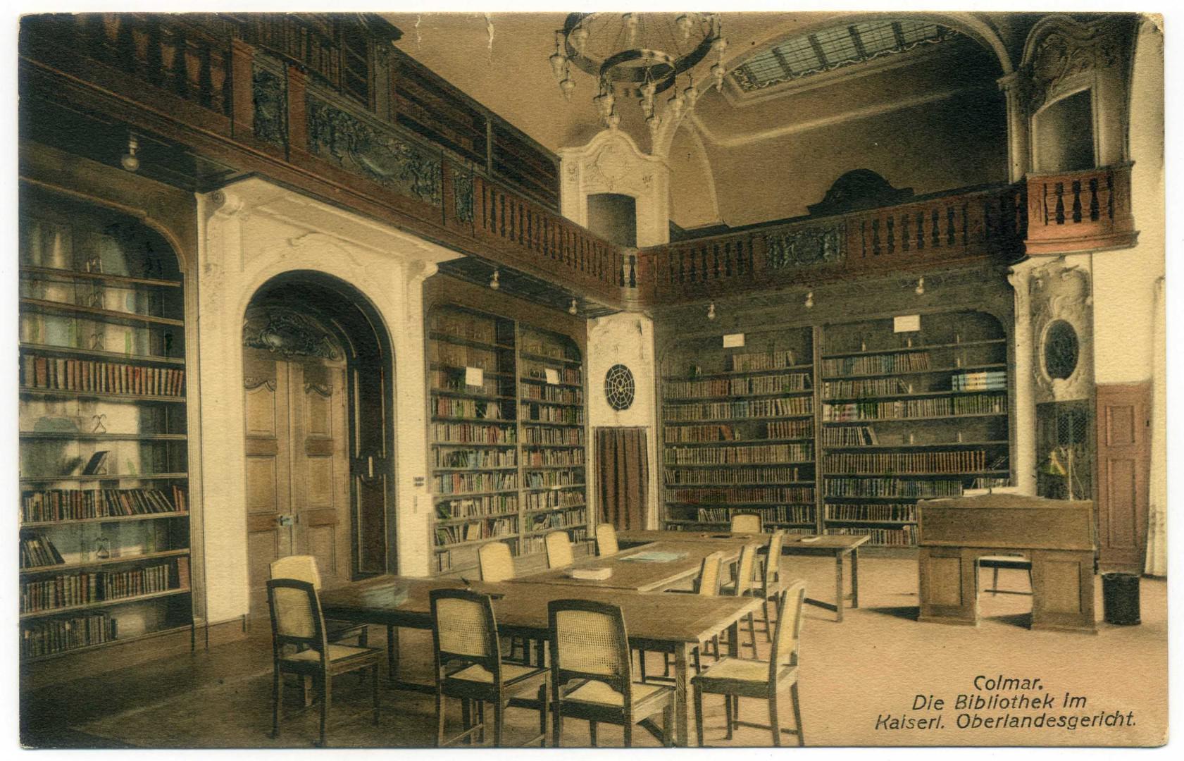 Colmar: Oberlandesgericht, Bibliothek