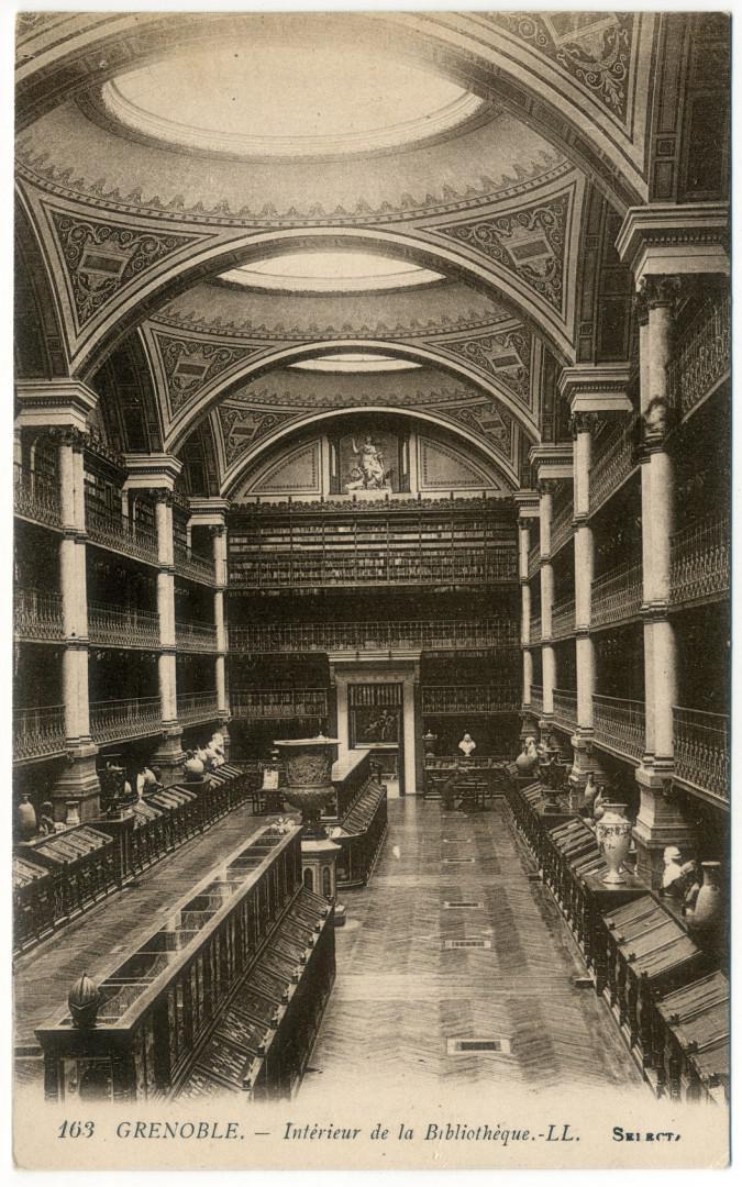 Grenoble: Bibliothèque municipale, Grande salle d'exposition