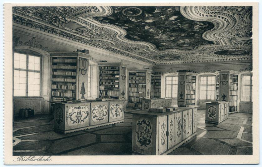 Neresheim: Benediktiner-Abtei, Bibliothekssaal