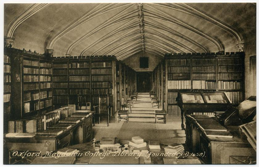 Oxford: Magdalen College, Old Library