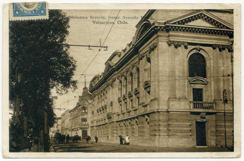 Valparaíso: Biblioteca Severin