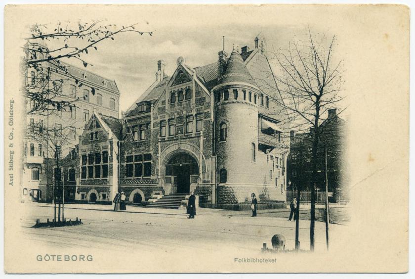 Göteborg: Volksbibliothek (Hans Hedlund 1897)