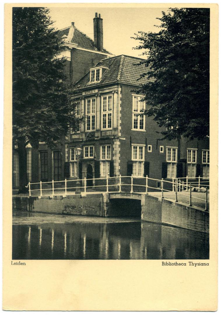 Leiden: Bibliotheca Thysiana