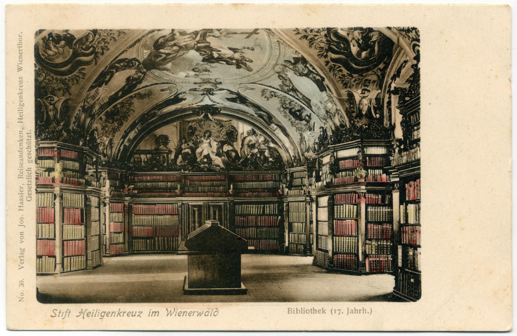 Stift Heiligenkreuz - Bibliothek (Goldener Saal)