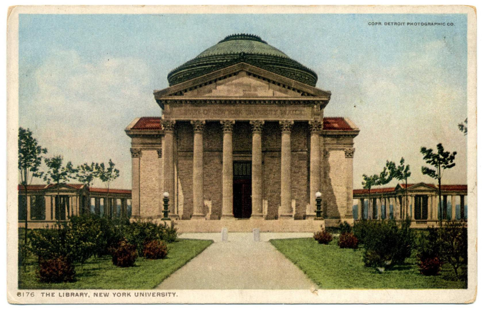 New York University: Gould Memorial Library
