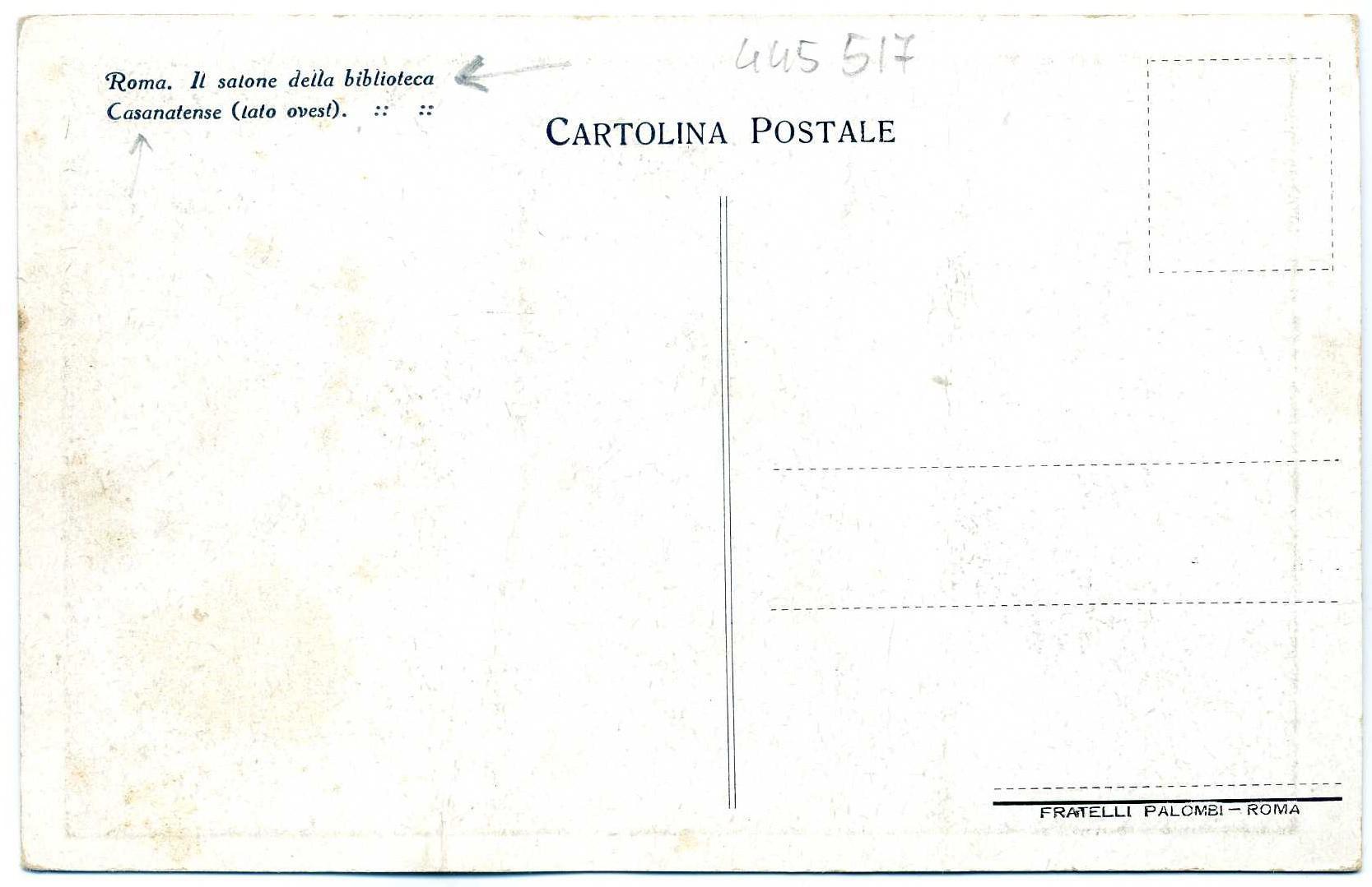 Rom Biblioteca Casanatense r