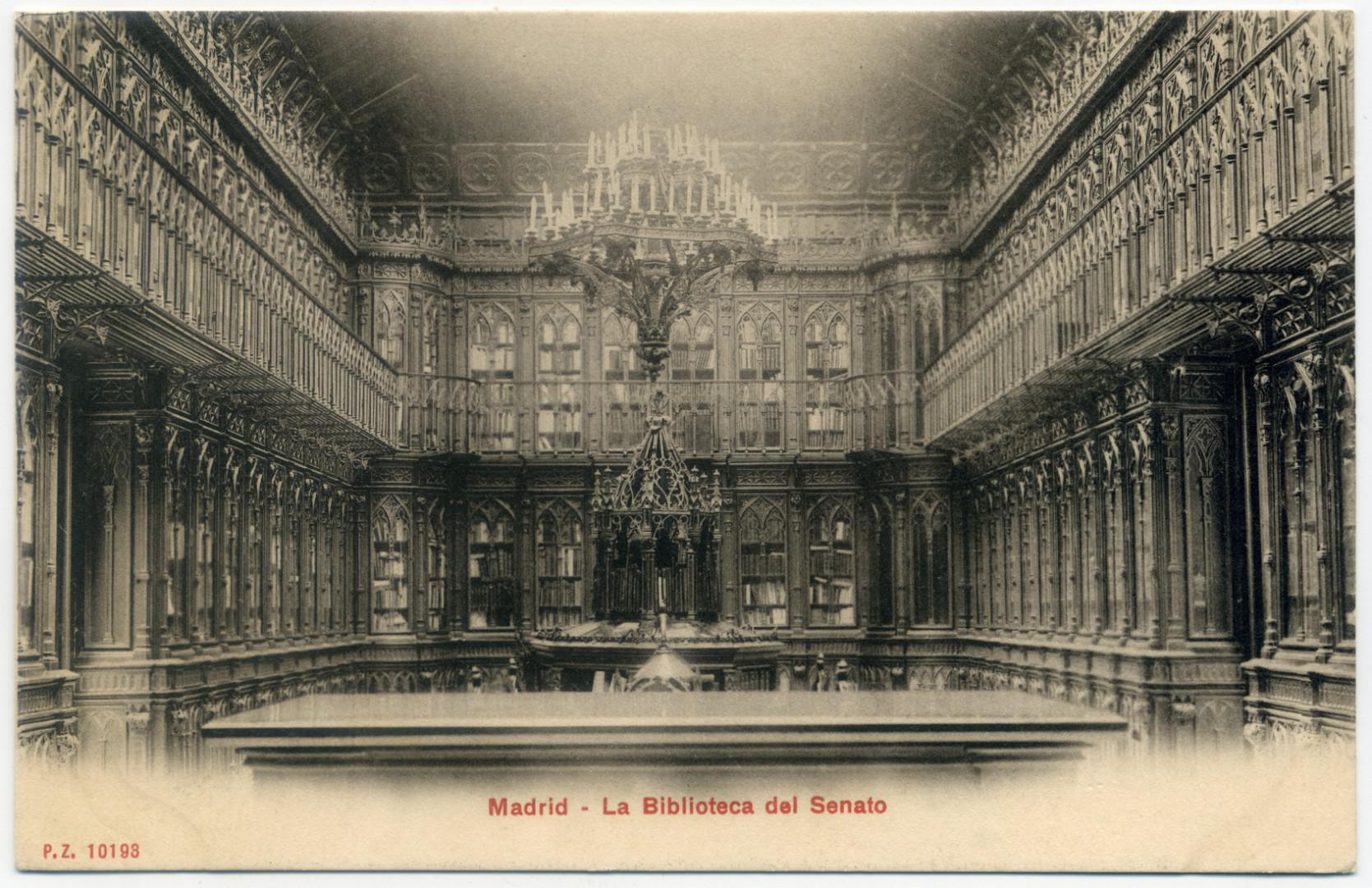 Madrid Biblioteca del Senado