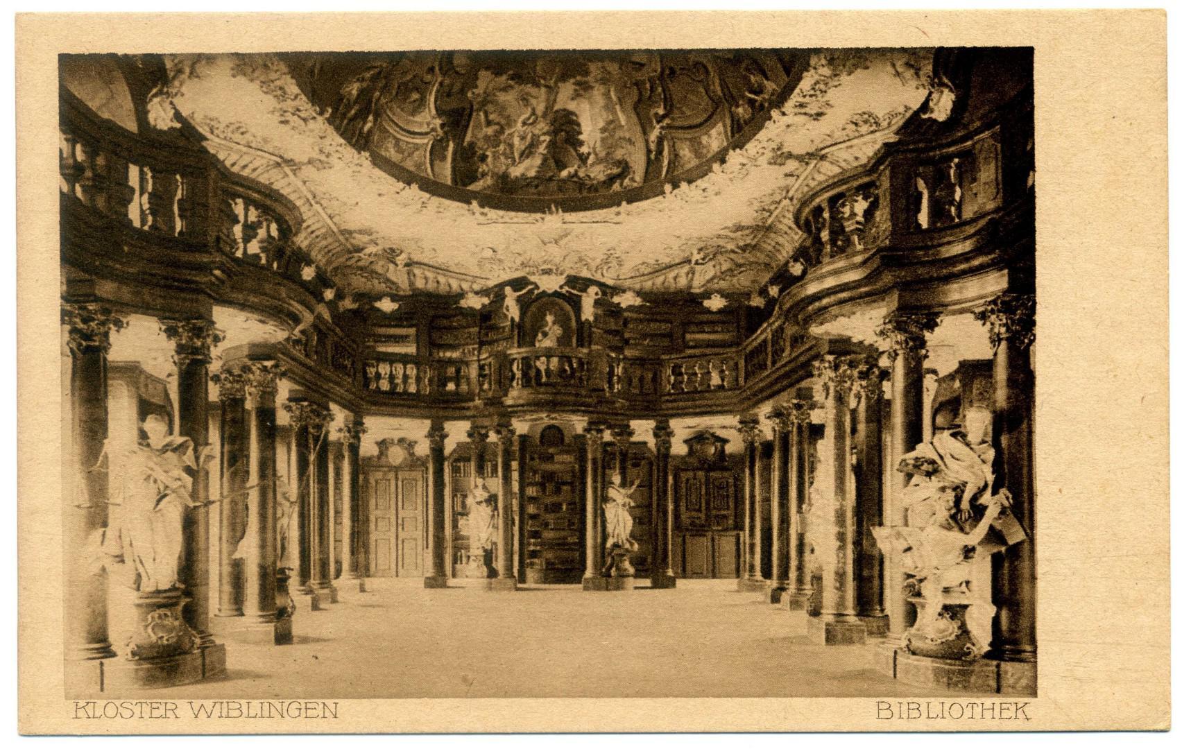 Ulm Kloster Wiblingen Bibliothekssaal