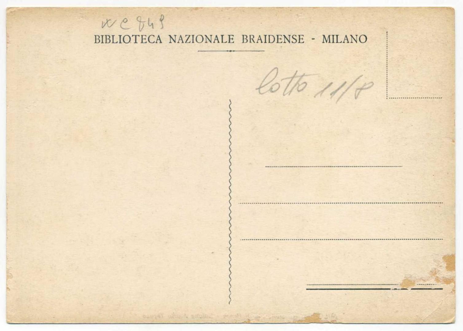 Milano Biblioteca di Brera r