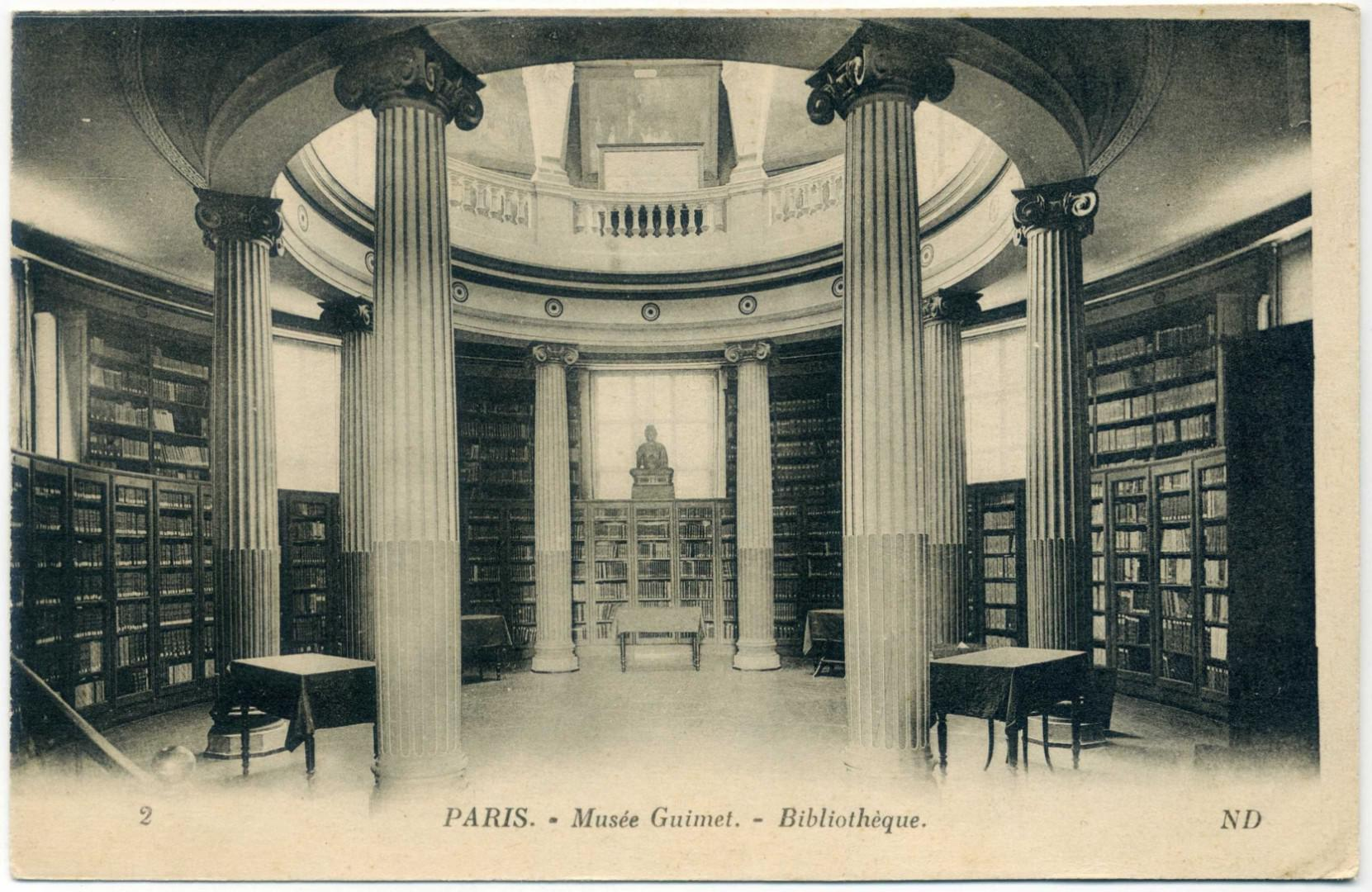 Paris Musee Guimet Bibliotheque