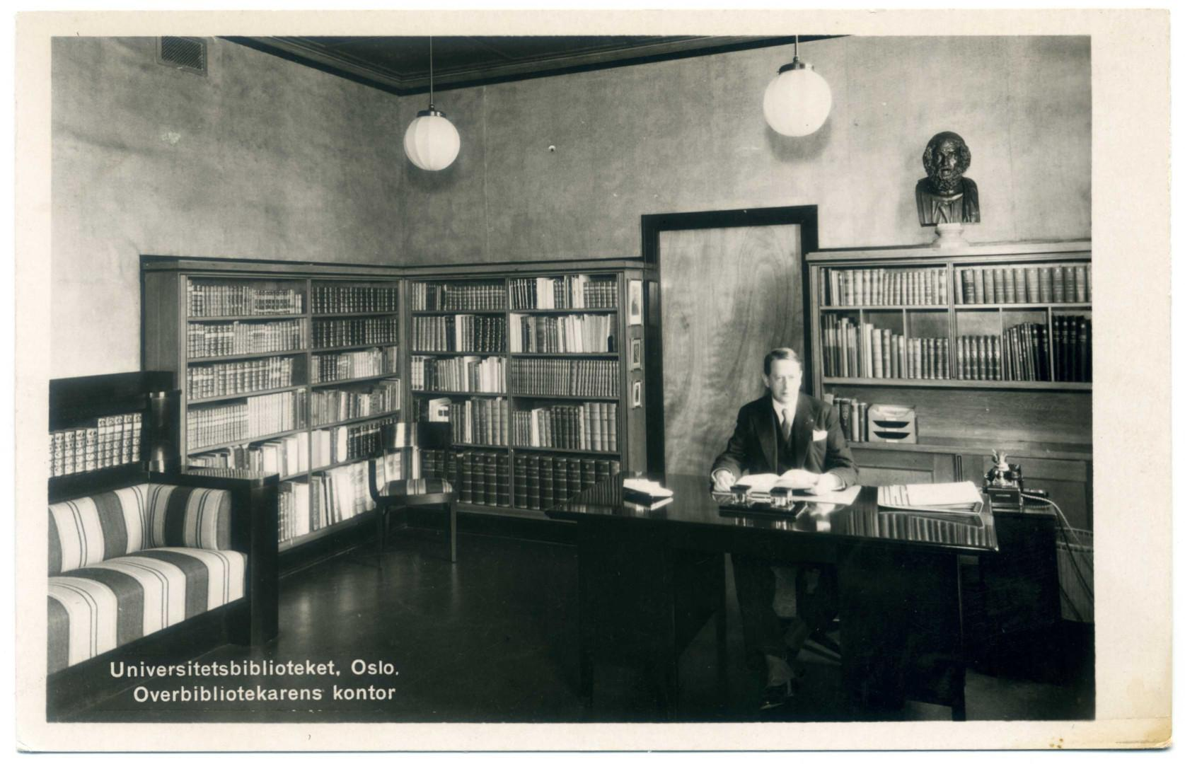 Oslo Universitätsbibliothek Wilhelm Munthe
