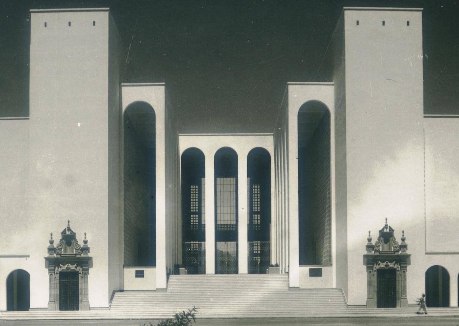 Hermosillo Edificio Museo y Biblioteca Detail