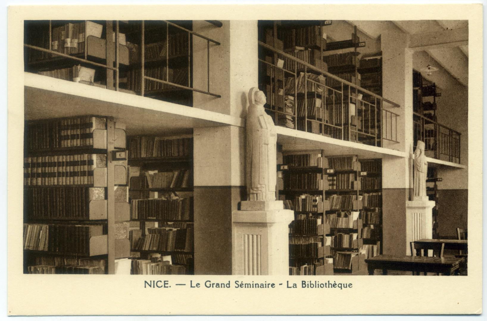 Nizza: Grand Seminaire - Bibliotheque