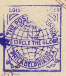 Stempel Post Card Union