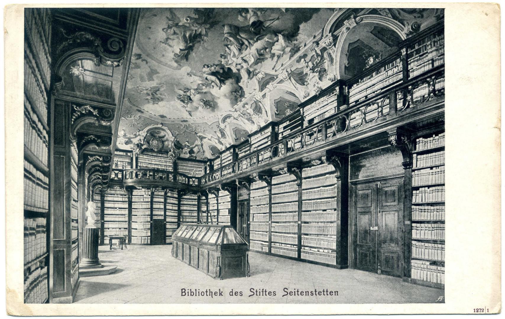 Stift Seitenstetten: Bibliothekssaal