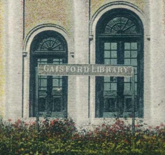 Sibi Gaisford Library Detail