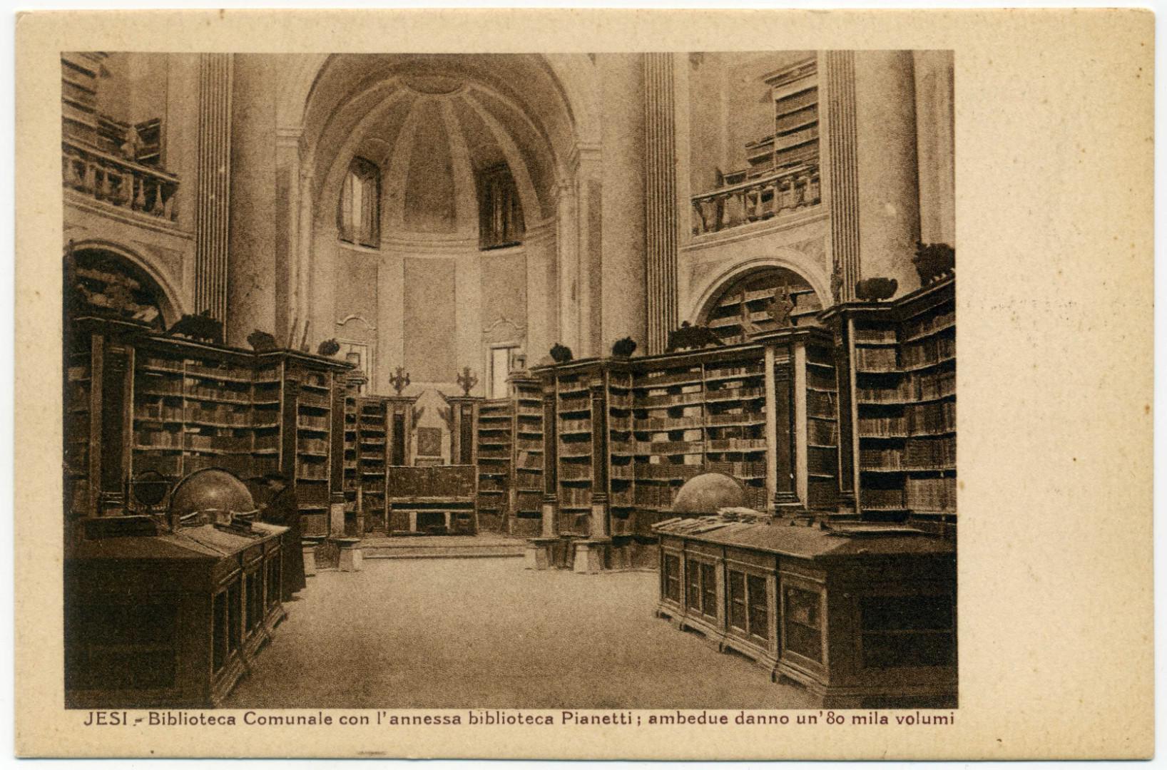 Jesi: Biblioteca comunale Planettiana