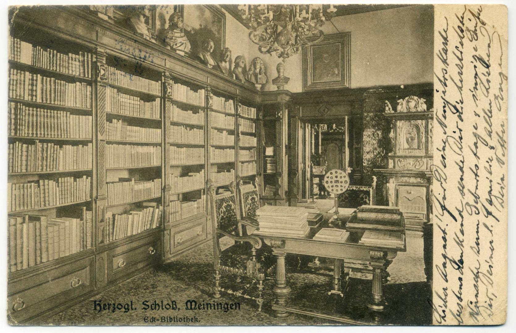 Meiningen Schloss Elisabethenburg Bibliothek