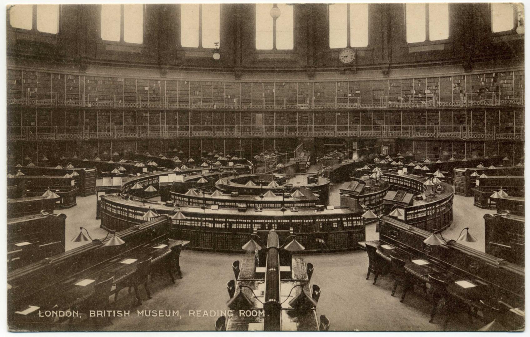 London: British Museum Reading Room